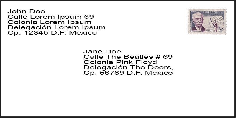 esquema de correo postal mind42