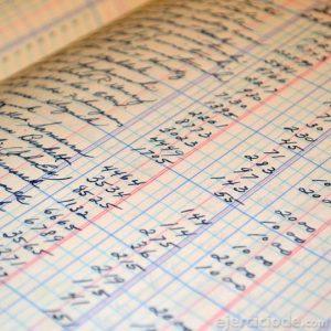 Hoja de contabilidad