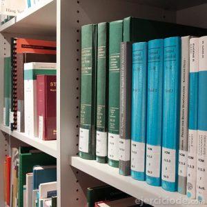 Ejemplo de tesis en la biblioteca
