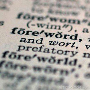 Significado de palabras