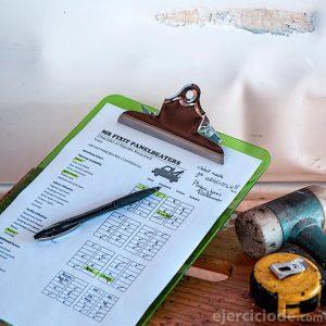 Presupuesto del taller mecánico