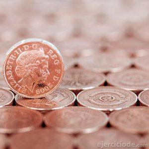 Monedas con rostro de mujer
