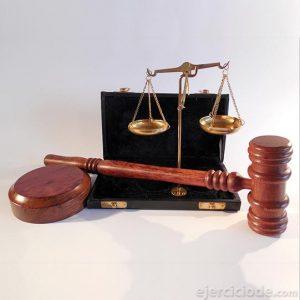 Artículos propios de un juez