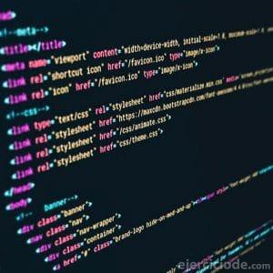 Código de sitios web
