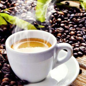 Té verde con café como bebida anti oxidante