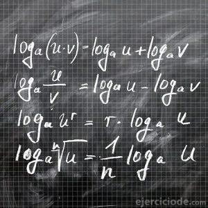 Algoritmos escritos en un pizarrón