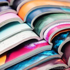 Variedad de publicaciones impresas