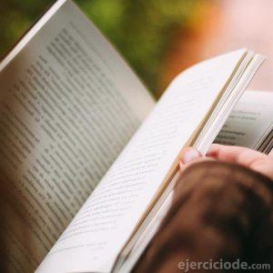 Lectura de una novela