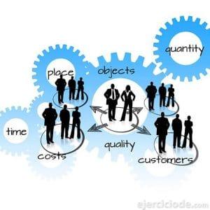 Diagrama de trabajo en equipo