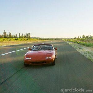 Automóvil a gran velocidad